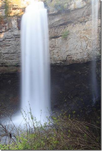 Fall Creek Falls from Base